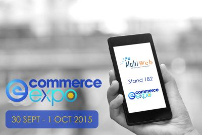 MobiWeb at eCommerce Expo 2015, the UK biggest marketplace of the latest eCommerce technology