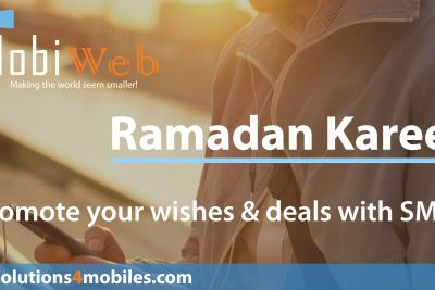 MobiWeb's special SMS offer for Ramadan 2016